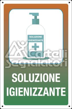 Soluzione igienizzante (flacone medico) - Coronavirus Covid-19